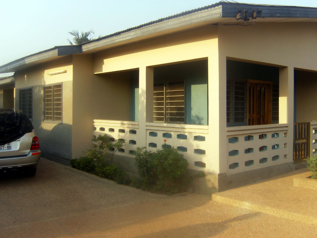 External view of your vacation apartment in Kumasi