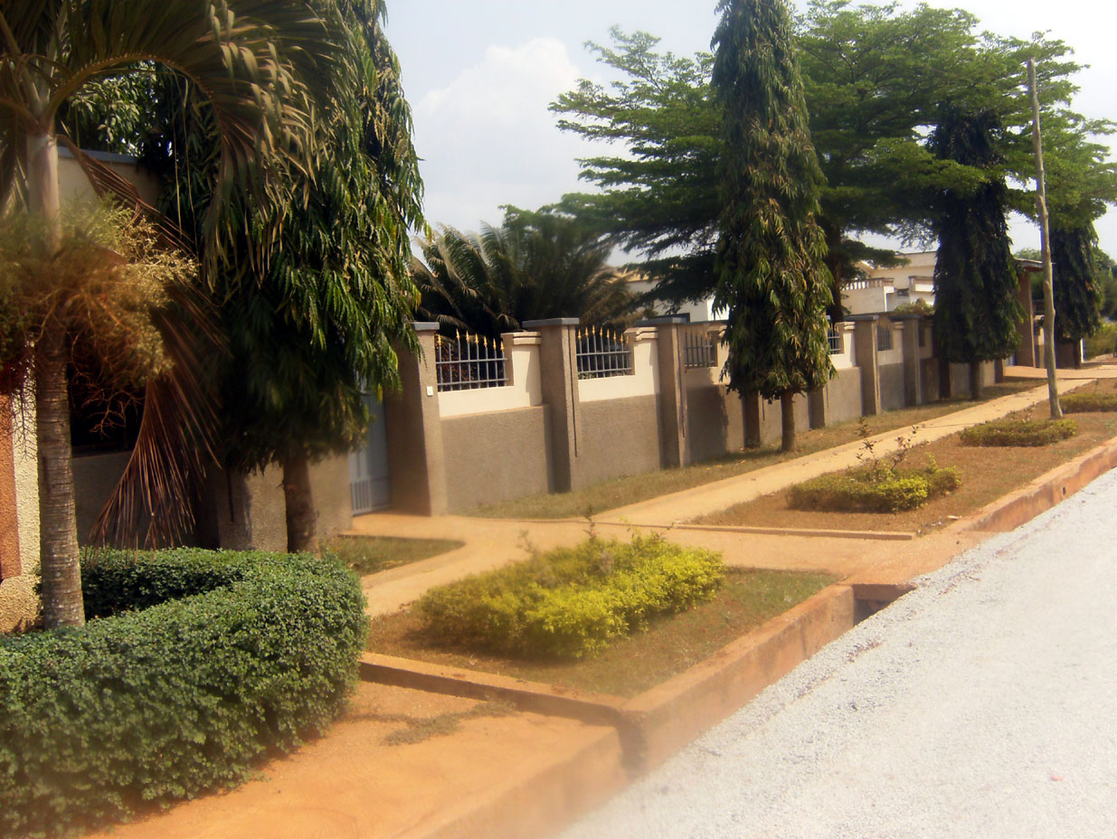Street view of Higgins Memorial Lodge, Kumasi