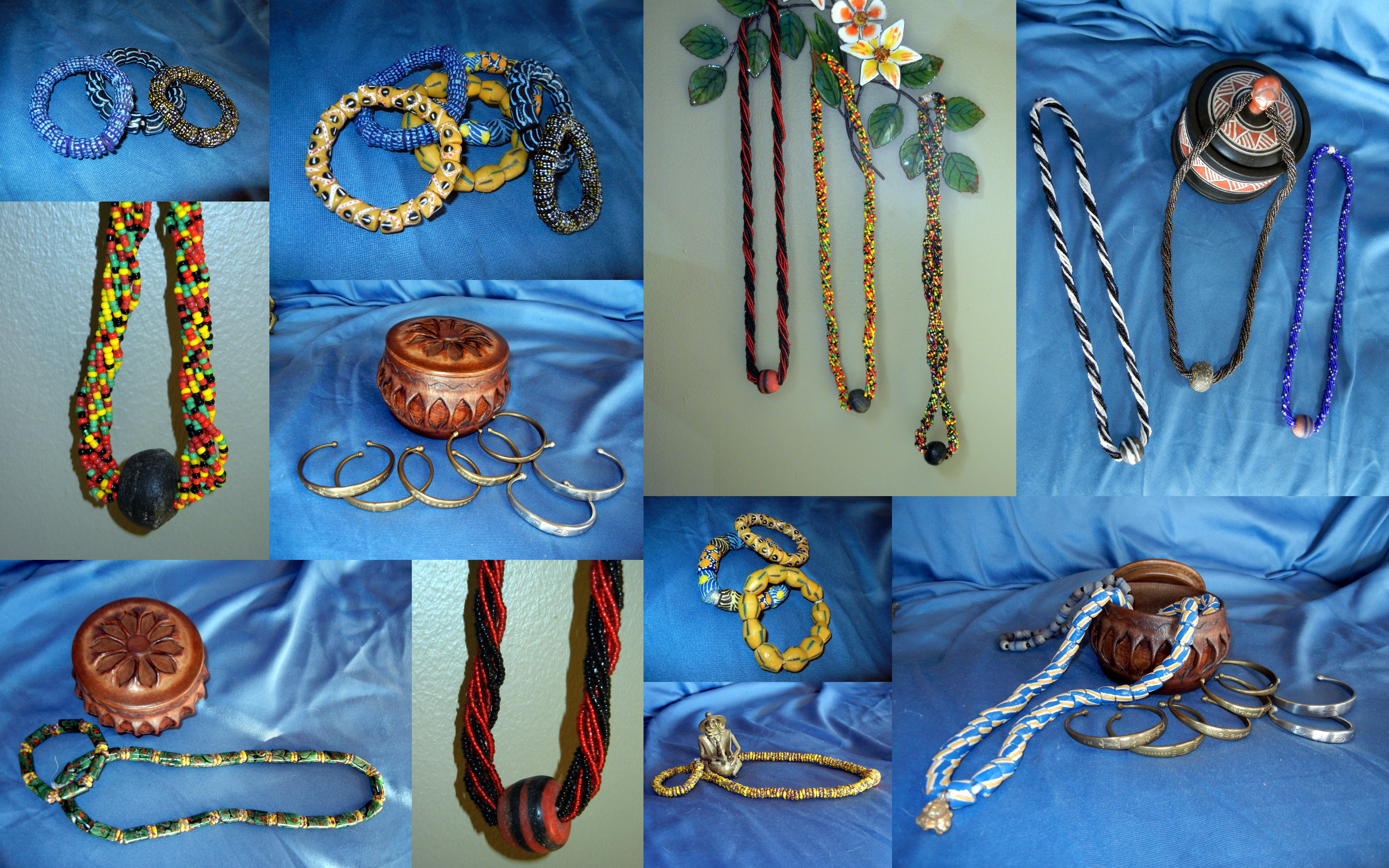 Handcrafted African Jewellery - Glass Beads