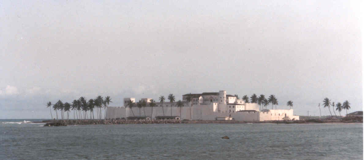 View of Elmina Castle from Sybil